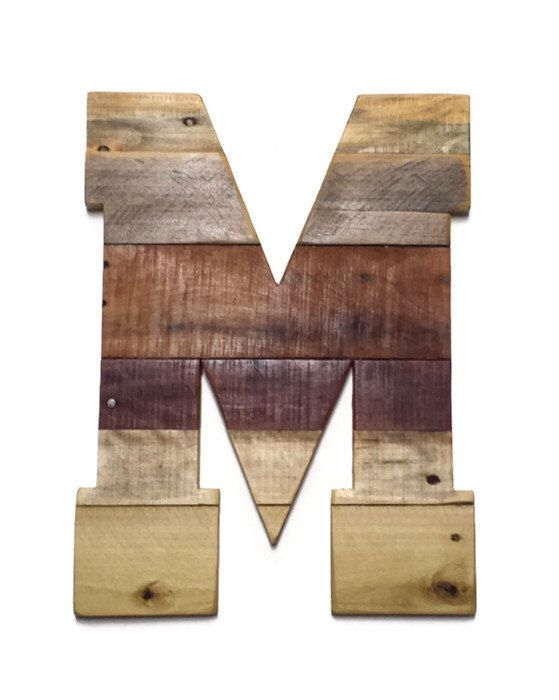 Reclaimed Pallet Wood, Rustic Home Decor, Pallet Letters, Large Wood Letters,  Sealed - Best 25+ Pallet Letters Ideas On Pinterest Vintage Wood Signs