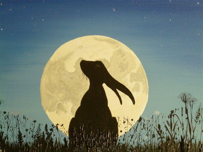 hare moon - Google Search