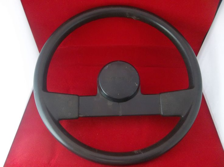 "1982-1993 Chevrolet S10 Pickup Black 15.5"" Steering Wheel OEM  #Chevrolet #S10 #Pickup #Truck #SteeringWheel #OEM #Original #Vintage #Parts #Black #Stock #Factory #Bonanza"