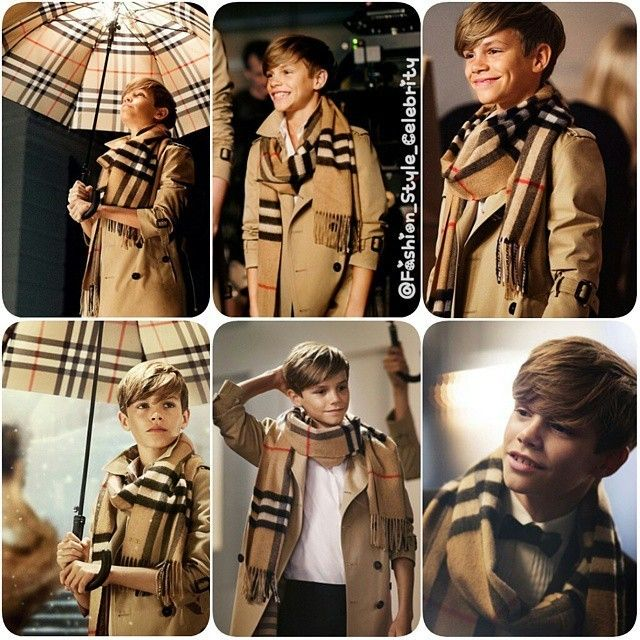 #RomeoBeckham for #Burberry#davidbeckham #victoriabeckham #rich #famous #fashion #style #celebrity #celebritylook #fashionista #fashionicon #mensfashion #mensfashionpost #ombre #stylish #lookbook #look #ootd #outfit #handsome #shoes #man #awesome #swag #awesome #BrooklynBeckham #cruzbeckham #harperbeckham... - Celebrity Fashion