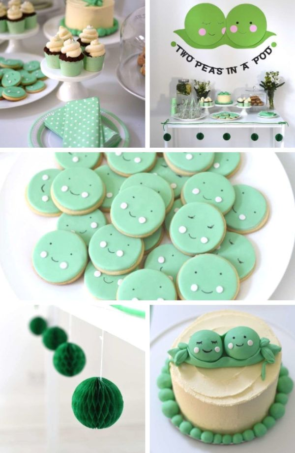 Two Peas in a Pod Baby Shower – Baby Shower Ideas – Themes – Games
