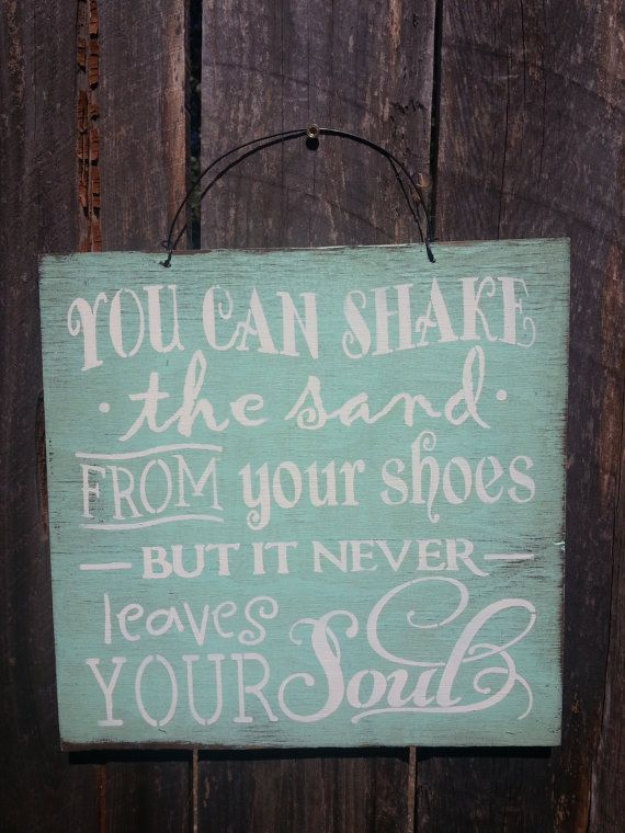 You Can Shake The Sand From Your Shoes Sign, Beach Sign, Beach Saying, ocean theme, beach house decor, Beach Theme