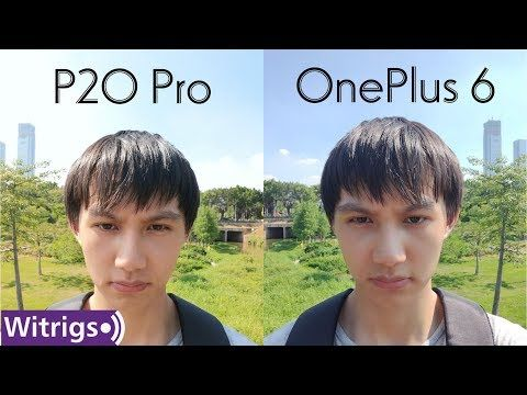 OnePlus 6 VS Huawei P20 Pro - Camera Review - YouTube   Mobile