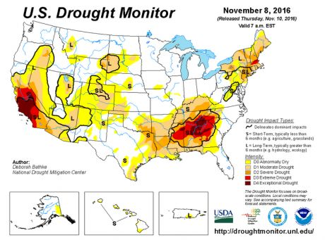 The Drought That Was Prophesied To Hit The Southern United States Is Now Here