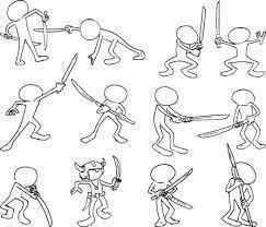 Resultado de imagen para dynamic animated poses