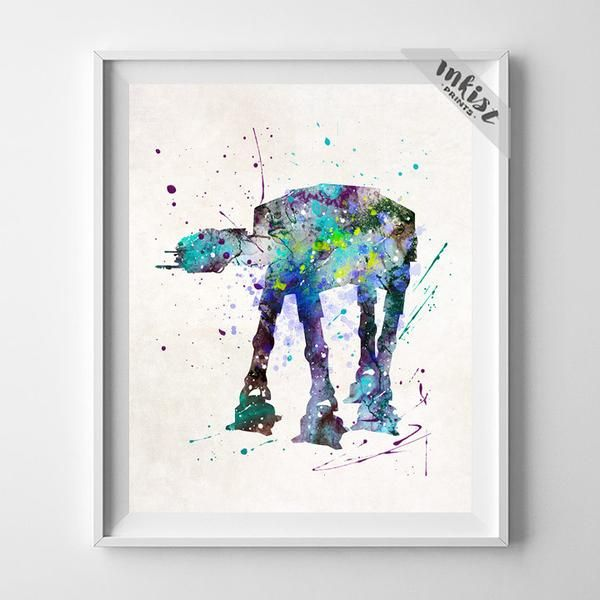AT-AT Walker, Star Wars Print-Poster-Inkist Prints