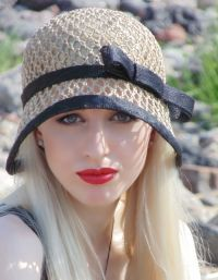Летние шляпы вязанные крючком 7