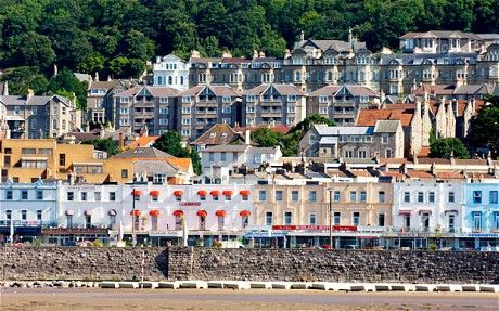 Weston super mare / England....spent our first anniversary here