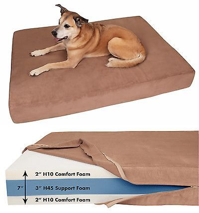 Beds 20744: Big Barker Orthopedic Dog Bed: Sleek Edition. For Large And Xl Dogs. -> BUY IT NOW ONLY: $199.95 on eBay!