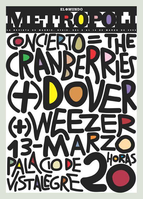 Metropoli March 02 concert poster | Rodrigo Sanchez