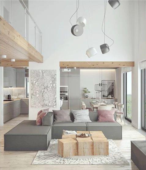 Contemporary Living Room Kitchen: 656 Best COMEDORES Y SALONES : Ideas Para La Decoracion