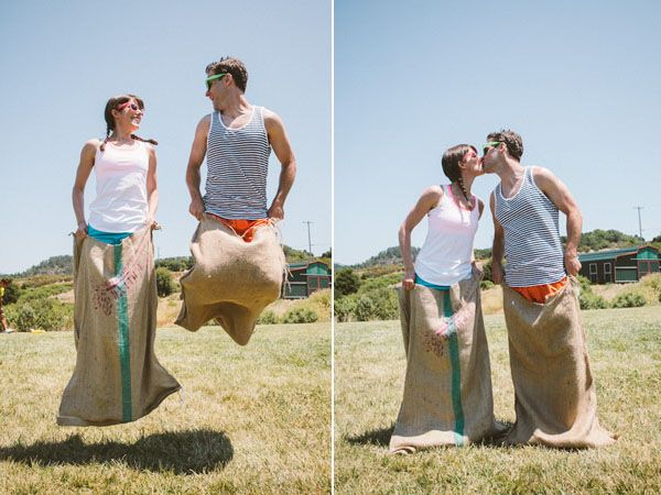 What a way to get everyone in marrying spirit by pitting them against each other in a set of challenges?! Haha! Love it! All the details below.  Carrie and Sean's Wedding Field Day From the moment we stepped foot … Continue reading →