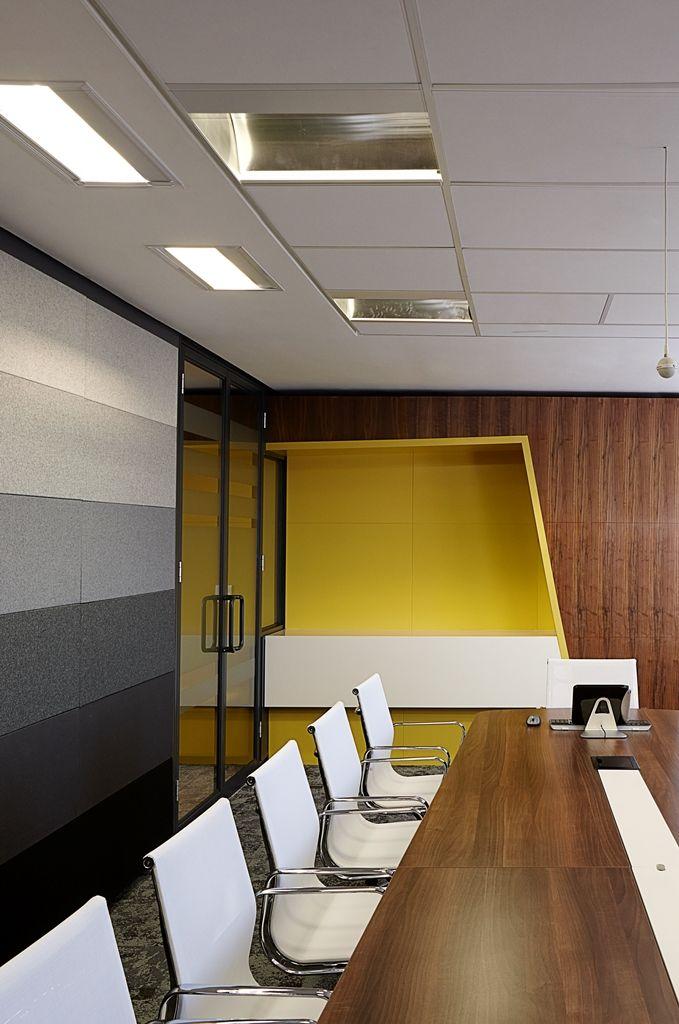 SABIC Office Boardroom detail. Interior design by Source Interior Brand Architecture.
