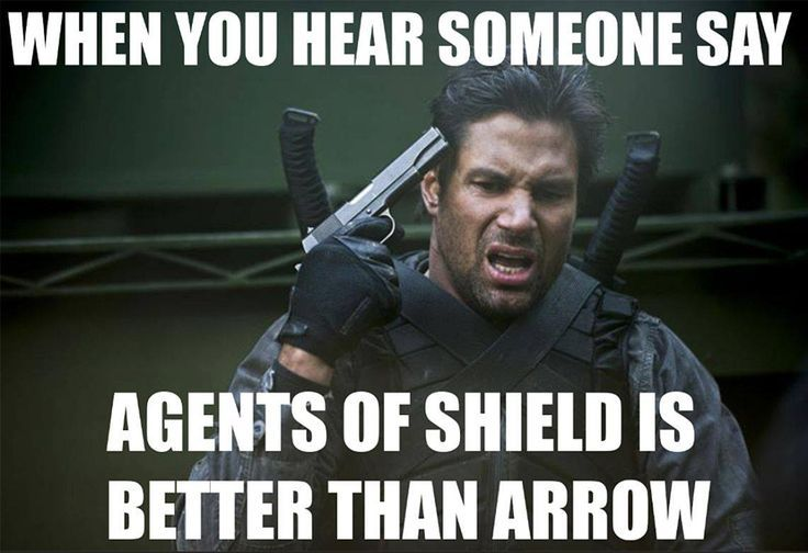 You want to shoot yourself in the face. #Arrow #Slade Wilson #Oliver Queen…