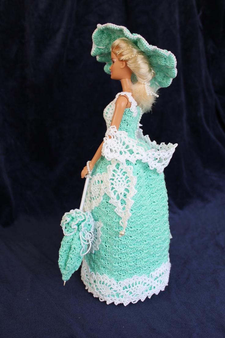 Tati - Watergreen right side  [handmade crochet]