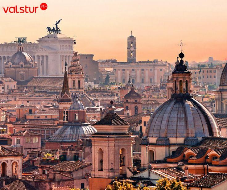 Zengin tarihi geçmişiyle İtalya'nın başkenti Roma'da unutamayacağınız bir tur sizleri bekliyor.  #valstur #roma #tur #napoli #pompei  #floransa #italya