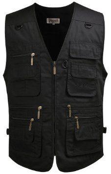 #Amazon: $27.99: Mrignt Men's Oversized Pockets Sports Outdoor Vest @ Amazon $14.99 #LavaHot http://www.lavahotdeals.com/us/cheap/mrignt-mens-oversized-pockets-sports-outdoor-vest-amazon/57800