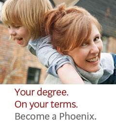 University of Phoenix-where I currently go to school and will earn my BSB from in 2012!