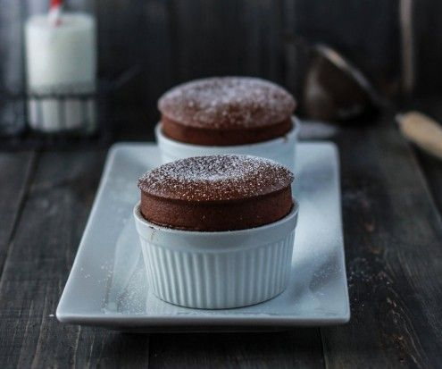 Classic Chocolate Soufflé: Master this famous French dessert and you'll be set to wow any and all dinner guests.