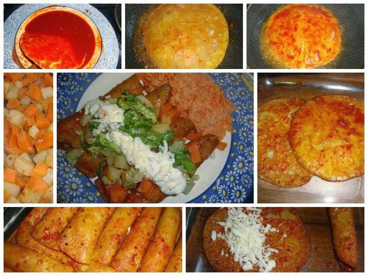 Tacos Rojos, Tacos Potosinos o Tacos Camila