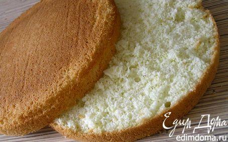 Идеальный бисквит | Кулинарные рецепты от «Едим дома!»