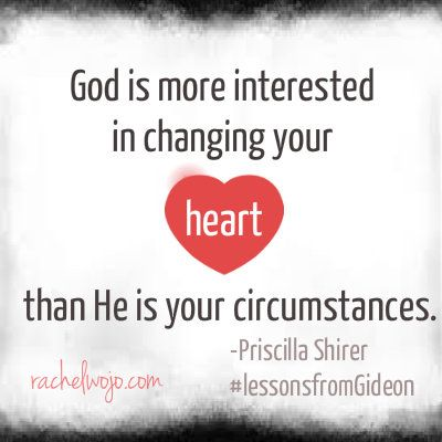 from #lessonsfromGideon with Priscilla Shirer- excellent study- I'm on week 3!