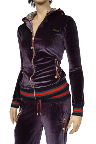 womens designer clothes gucci ladies zip up tracksuit