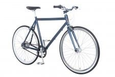 Fixie bike | Amsterdam Elite NuVinci Deep Blue | Lekker Bikes