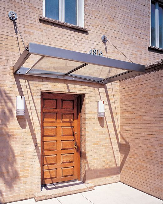 143 best glass canopies images on pinterest canopies shade stainless steel and glass canopy front door awningfront planetlyrics Gallery