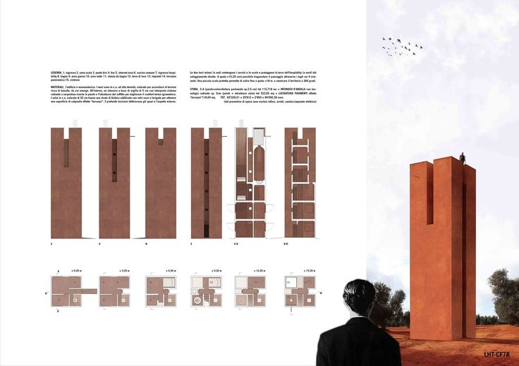 LHT Leverano Horizon Tower -MENTION   by archiSTART #competition #architecture #archistart