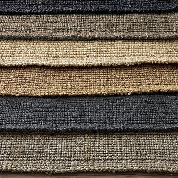 Jute Bouclé Rug #WestElm  Durable for kids and stains plus gives me the stylish rustic look