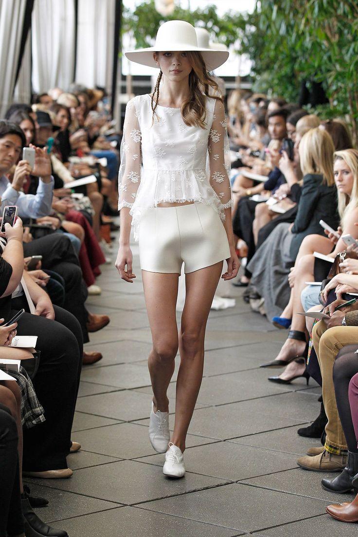 Beautiful Top dentelle Till u Short Automne Hiver New York Delphine Manivet Short Wedding DressesDelphine