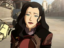Asami Sato, from The Legend of Korra. Beautiful, intelligent, entrepreneurial AND kick-ass.