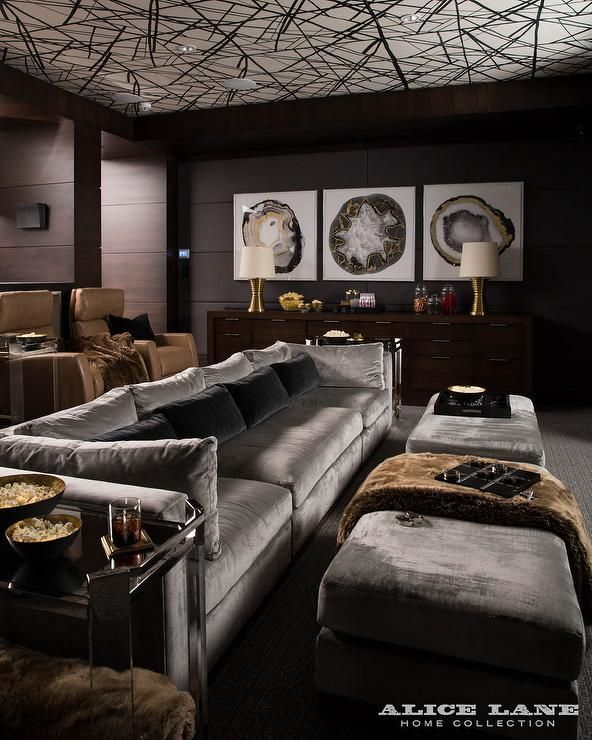 15 Awesome Basement Home Theater Cinema Room Ideas: Best 25+ Basement Movie Room Ideas On Pinterest