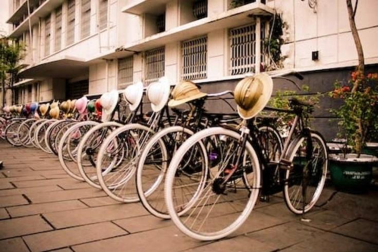 Classic bikes at Kota Tua by Rini Andriani