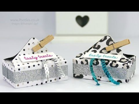 Envelope Punch Board Waffle Box Tutorial - YouTube
