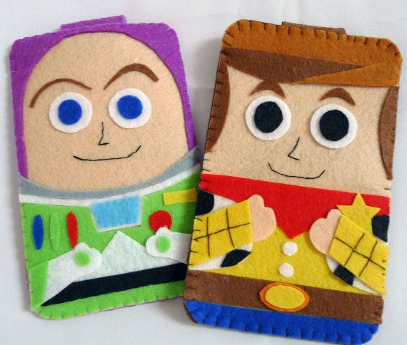 Toys Story collection Handmade Buzz Lightyear iphone, iphone 4S felt cell phone case (FREE SHIPPING). $18.00, via Etsy.