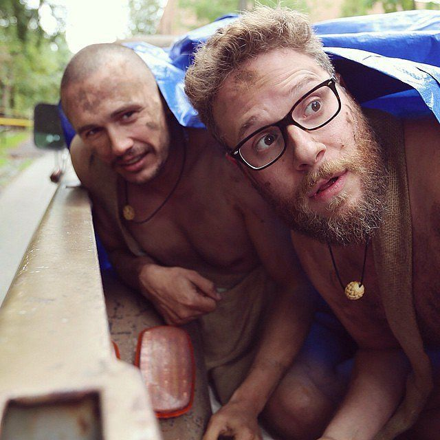 Pin for Later: Here's the First Clip of James Franco and Seth Rogen on Naked and Afraid