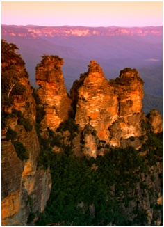 Three Sisters, Blue Moutains, Australia  {1991, 2009, 2010}