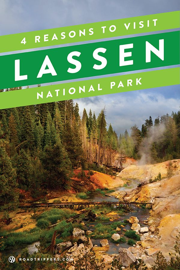 This lesser-known national park, located in Northern California, is a great place to let your inner Bill Nye out and explore each type of volcano for yourself!