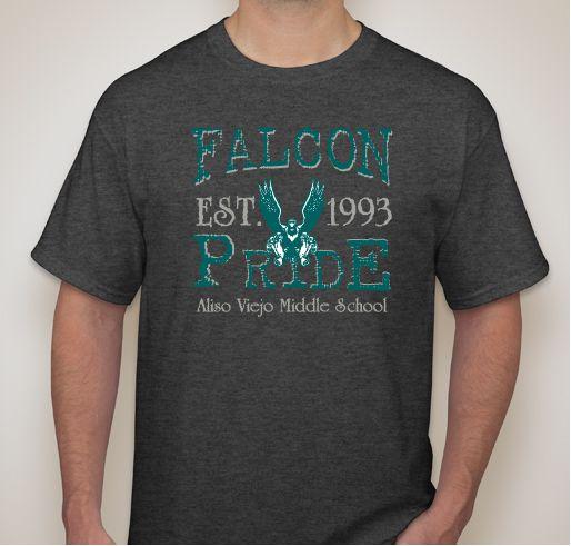 aliso viejo middle school spirit wear fundraiser unisex shirt design front - School Spirit T Shirt Design Ideas