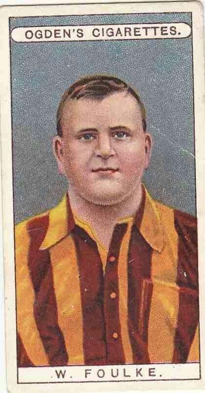 William Foulke of Bradford City in 1906.