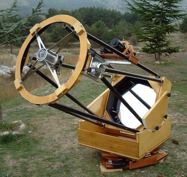 Amateur astronomical observatory space Beloivanovs among