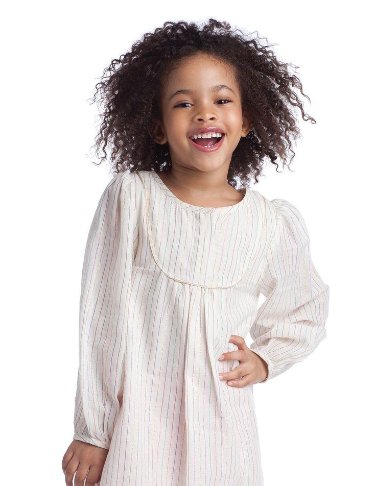 Sparkle Stripes- Maya Dress