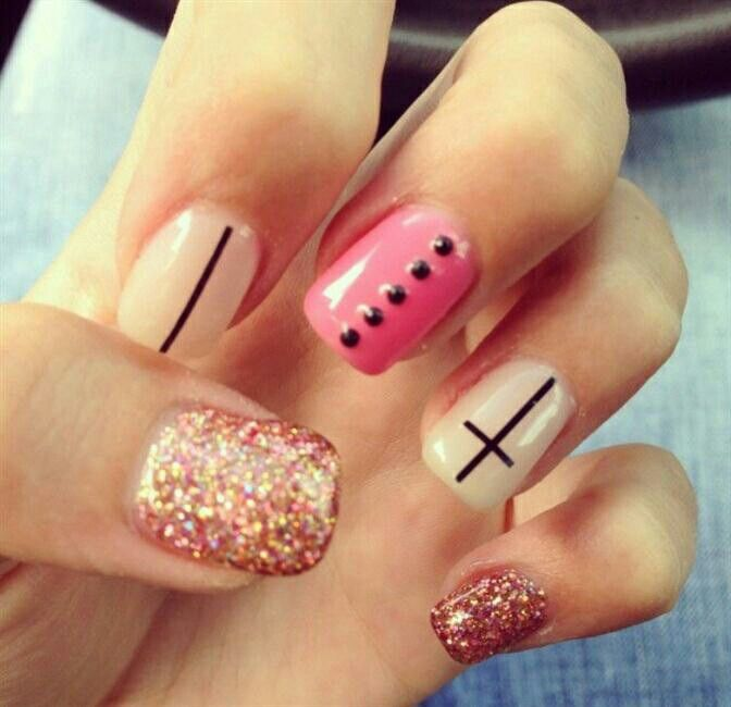 Cross Nail Designs Pinterest