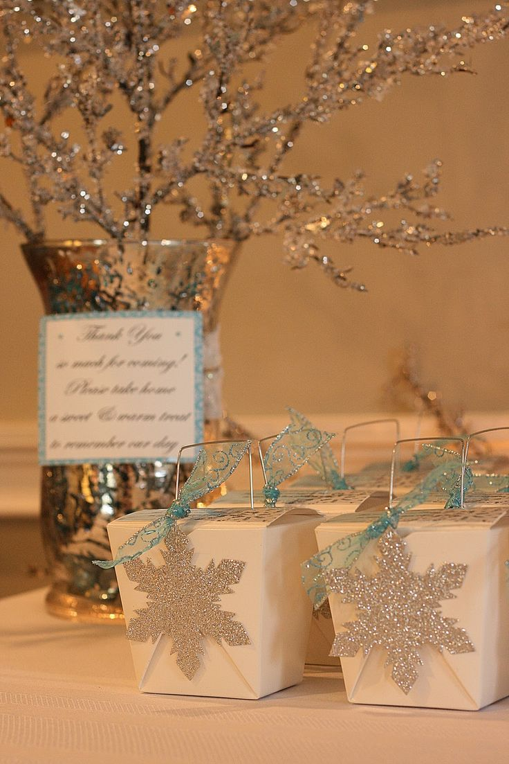 Favors, Winter Wonderland And Wonderland On Pinterest