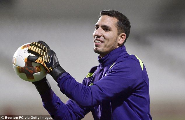 Joel Robles is in Cyprus and trained with the squad on the pitch ahead of Thursday's game...