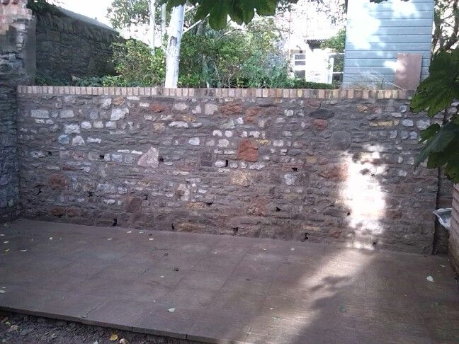 Bit of stone walling i worked on for www.incastone.co.uk
