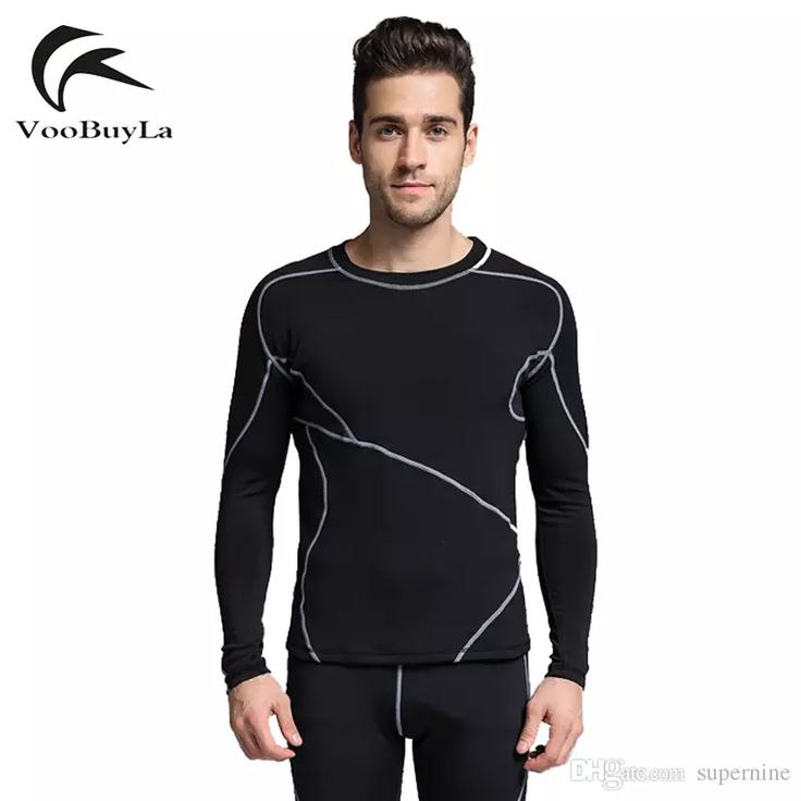 2017 High Quality Thermal Underwear Men Underwear Sets Compression Sport Fleece Sweat Thermo Underwear Men Clothing Long Johns From Supernine, $40.21 | Dhgate.Com