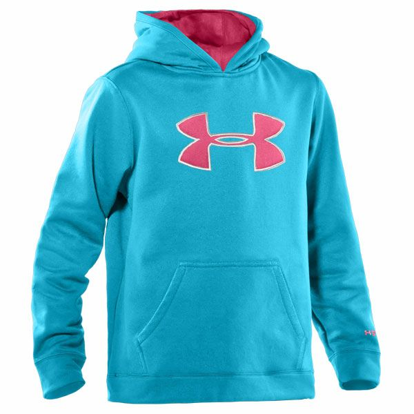 pictures of  underarmour stuff | Under Armour Kids Armourfleece Storm Big Logo Hoody Break/Ultra